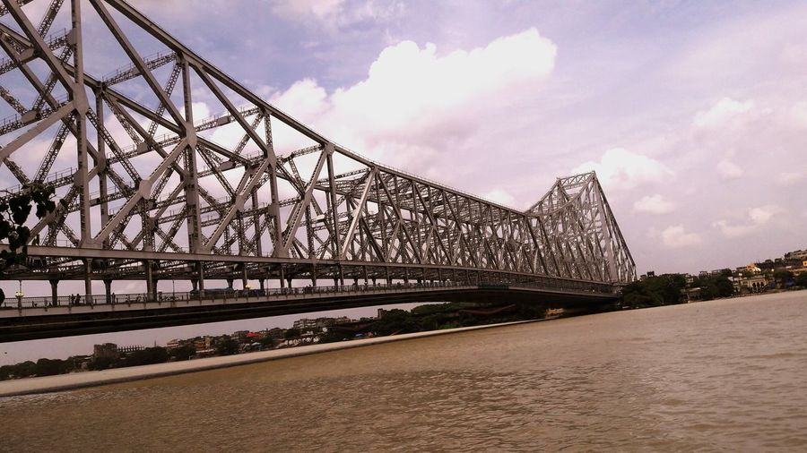 Howrah Bridge........The Icon Of West Bengal Strcture Ganga River India