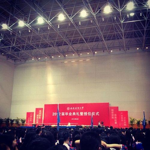 毕业典礼 College Swufe Photooftheday Instadaily instapic iphonesia graduation 卒業式