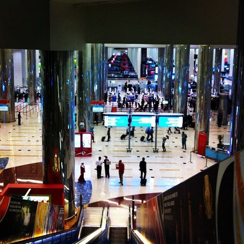 Just watched ultimate Dubai Airport S2 on national geography and the showed the gate B13 where I flown from it just brought me all the memories back! Can't wait to be back at Dubai airport ?✈✈✈ Dubai Dubaiairport Emiratesairlines Emirates arrivals massive escalators blue signs customs