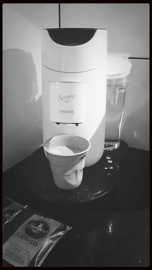 our new senseo macine . Coffee Relaxing Enjoying Life Senseo