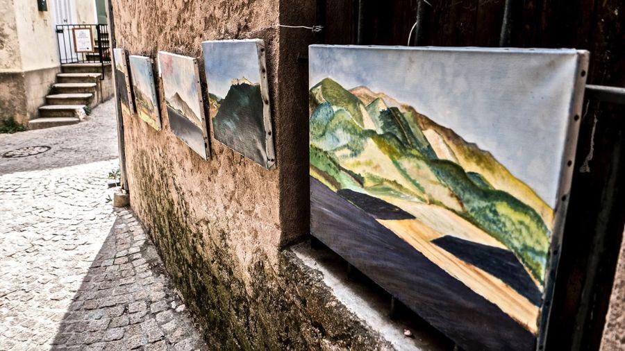 paintings on