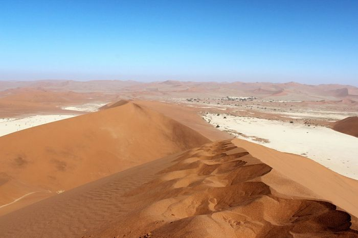 Travel Destinations Sand Dune Hikingadventures Namib Dunes