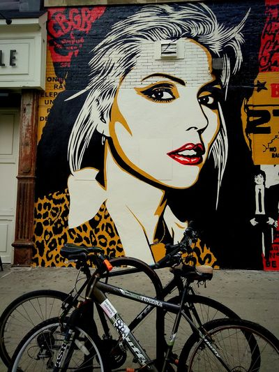 The Week On EyeEm Blondie on the Wall.photo by Shell Sheddy Arts Culture And Entertainment One Person Shellsheddyphotography Street Photography Graffiti & Streetart Blondie 4 Life♥ Debbie Harry Street The Street Photographer - 2017 EyeEm Awards Sheshephoto Building Exterior City Architecture Mix Yourself A Good Time Street Art