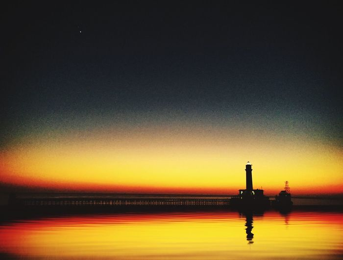 Sunsetat Daedalus Sunset Lighthouse Water Reflections Atmosphere Daedelus