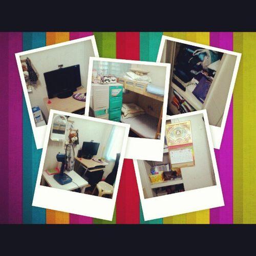 New bigger room :3 Room Apartment Collegeliving College student lipatlipatdinpagmaytime