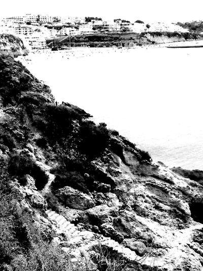 Rocks.. beach.. and me. #EyeEm EyeEm Selects #blackandwhite #photography #portugal LoveBW Photos Blackandwhitephotography Blackandwhite Algarve Bw_captures Dark Love Art Olho_portugues Water Wave UnderSea Sea Beach Underwater Swimming Sky Close-up Horizon Over Water