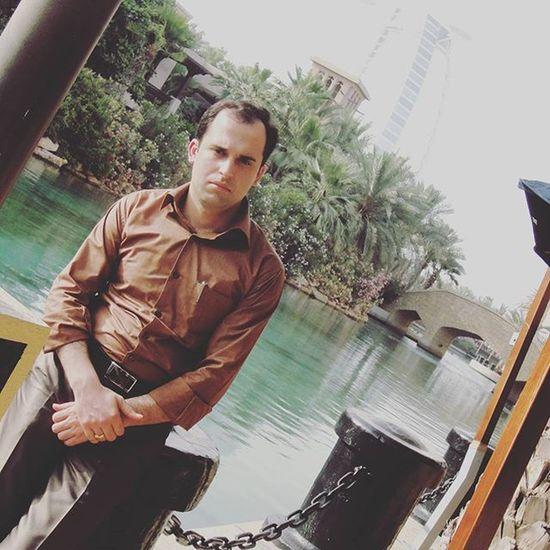 Travel People Man Reza Jomeyra Dubai