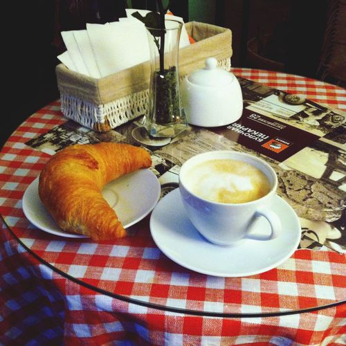 Croissant Coffee Time
