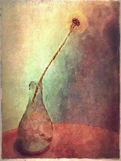 painted dandelion NEM Painterly NEM Submissions WeAreJuxt.com Dandelion