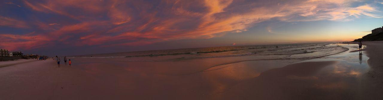 Running wild 7.6.17 Beach Sea Sunset 🌅 Sunset Enjoyinglife  Florida