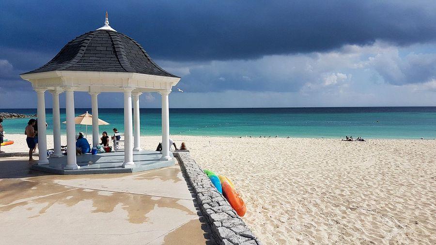 Bahamas Beach Vacations Summer Travel Destinations Hotel Sea Relaxation Tourist Resort