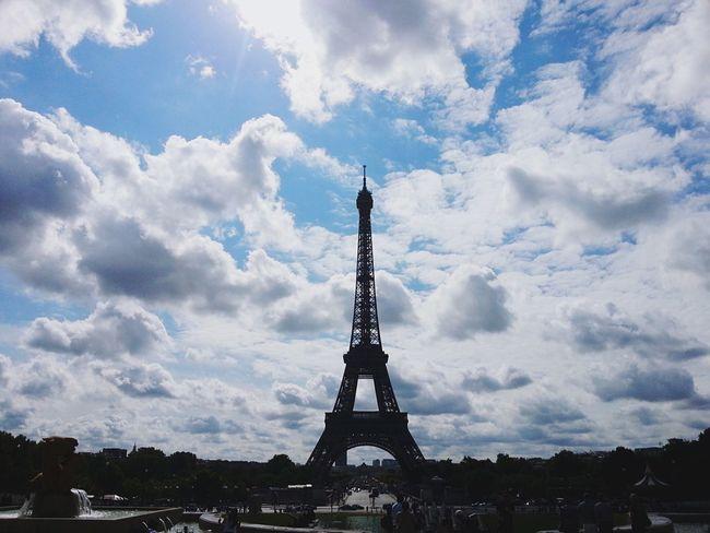 Paris ❤ Tour Eiffel Paris, France  At Palais De Chaillot Travel