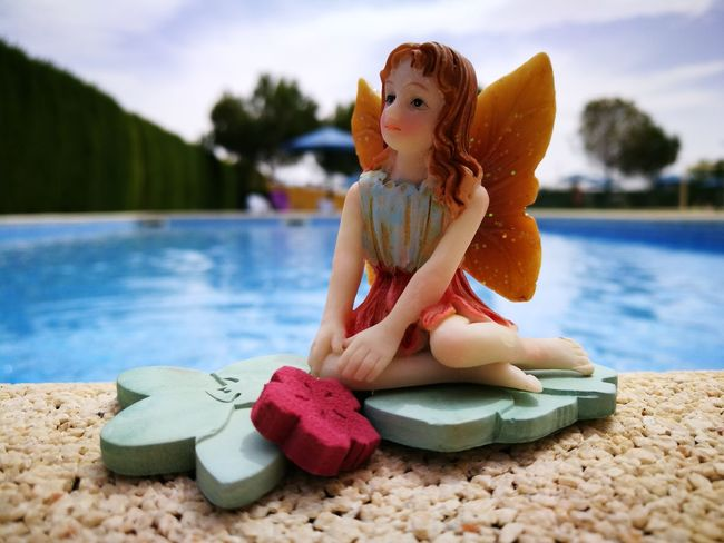 Ninfa Swimming Pool Summer Water Learning Photography