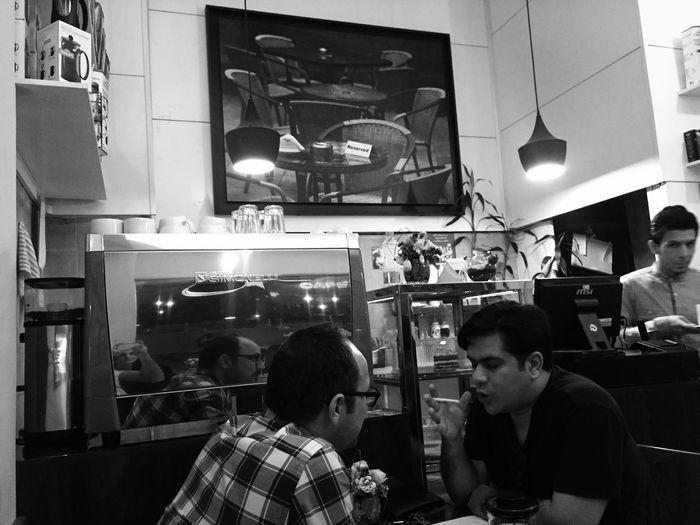 Speaking Drinking Coffee Coffee ☕ Coffee Shop Coffee Shop ه