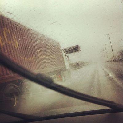 Wet drive to Birmingham #focusonimaging #M1 M1 Focusonimaging