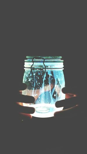 《 The Light Of Spirit In A Bottle Of Glass 》 Taking Photos Samsung Phototakenbyme Eyem Light Peace Hands Bottle