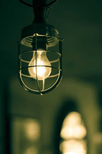 Close-Up Of Light Bulb