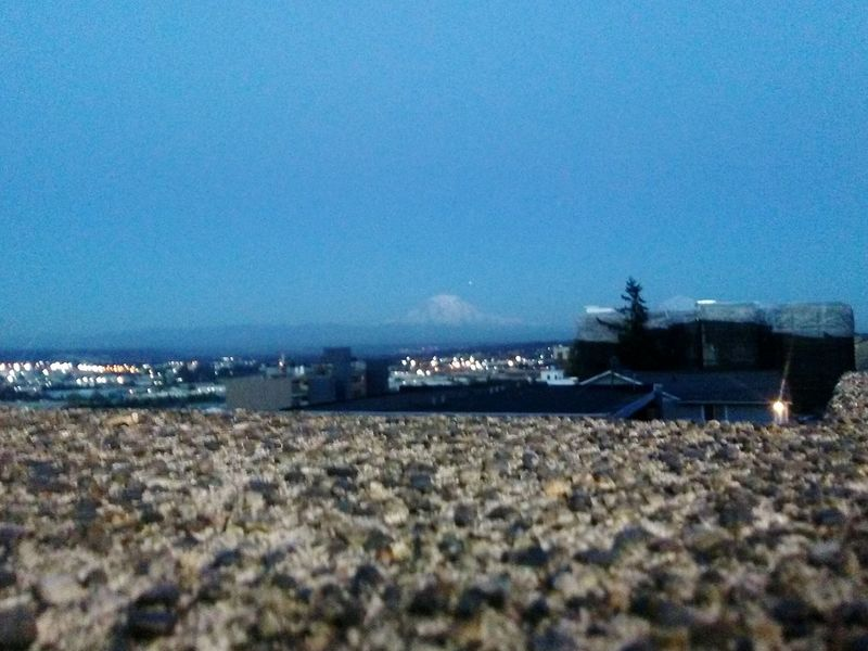 Romancing Rainier Mountain Range Mountains Mountain View Mountains And Sky Mountain Mountain Peak Mount Rainier Tacoma, Washington Cityscape Sky Evening Sky Night View Optical Illusions Closeup Multilevel Sommergefühle EyeEm Selects Lost In The Landscape Perspectives On Nature The Graphic City Colour Your Horizn