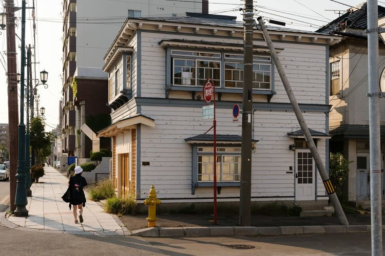 Building Exterior Full Length Architecture Built Structure Outdoors Day One Person One Man Only Adult Real People Only Men People Adults Only City Hakodate Hokkaido Japan