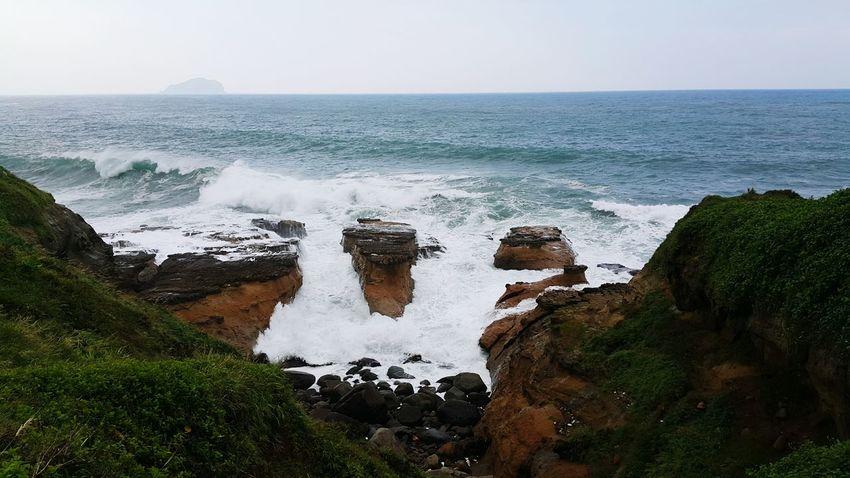 颱風後的巨浪