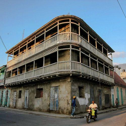 Colonial building and architecture in Cap Haitian Architecture Outdoors Sky Haiti Rural Building Exterior Built Structure Cap Haitien Haïti, Amazing Country Architecture Haitian North
