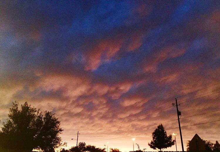 After The Rain Sunset Clouds