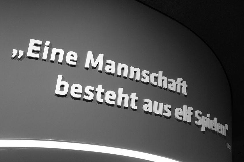 Fussballmuseum in Dortmund Extraschicht 2016 Fujifilm X-E2 Ruhrgebiet Typography Fussball
