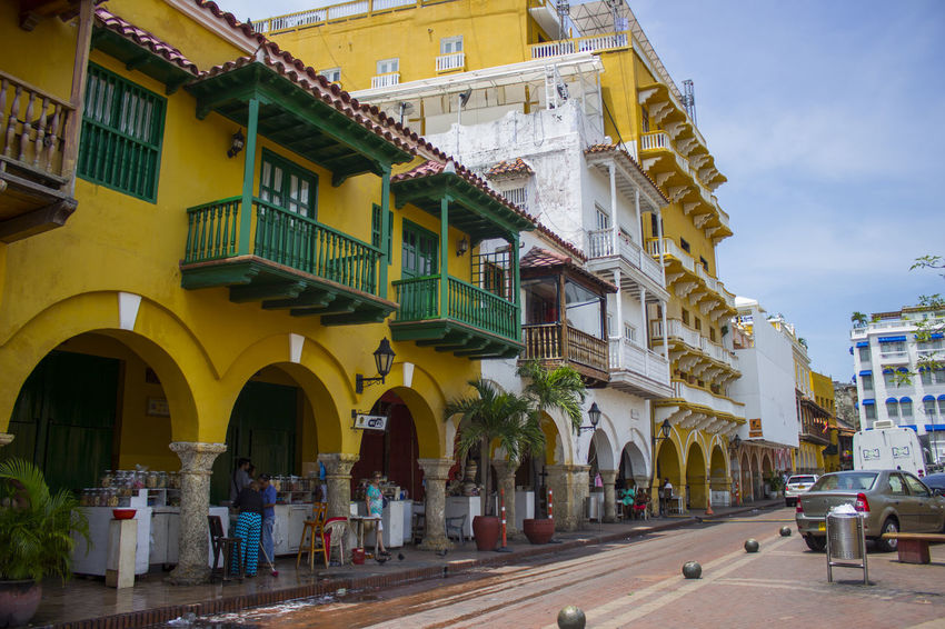 Architecture Building Exterior Built Structure Cartagena Cartagena Colombia Cartagena De Indias Cartagena, Colombia Cartagena/Colombia Cartagenadeindias City Day Outdoors People Real People Travel Destinations