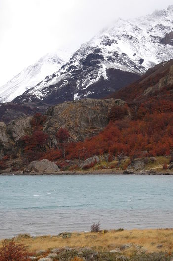 Mountain Water Beauty In Nature Wilderness Scenery Snow Nature Environment Landscape No People Day Cold Temperature Sky Winter Mountain Peak Mountain Range Outdoors Lake Snowcapped Mountain