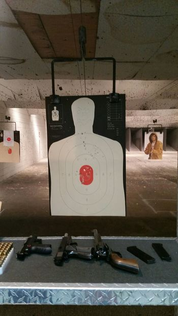 I support RESPONSIBLE gun ownership. I'm not a gun nut and i do believe in keeping firearms out of the hands of the mentally ill and criminals. Target Shooting Gun Range Bullseye Firearm Training