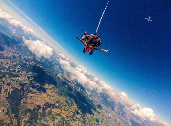 Parachute Jump ! Share Your Adventure