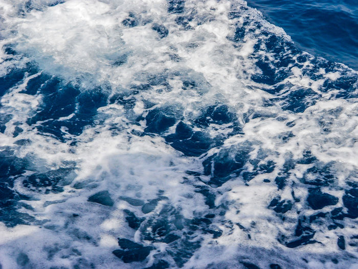 Backgrounds Full Frame Abstract Water Blue No People Day Close-up Sea Nature Outdoors Wave Beauty In Nature