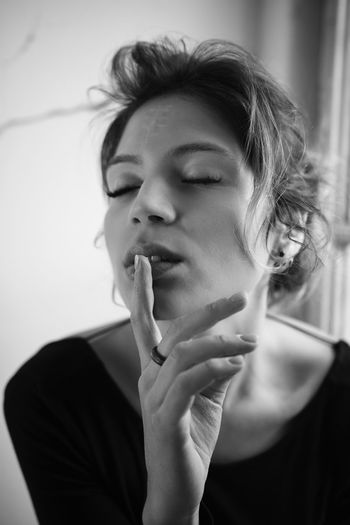 Hush now and listen to my feminine side International Women's Day 2019 One Person Young Adult Portrait Beautiful Woman EyeEm Best Shots Eye4photography  Portrait Of A Woman