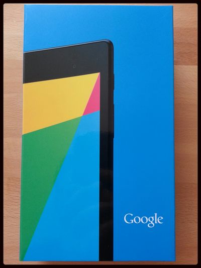 Das neue Nexus 7 :)