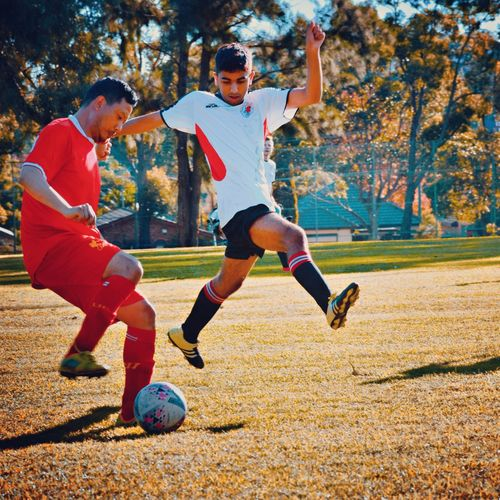 Leaping Larry Soccer Men Photography EyeEm Gallery Photooftheday Picoftheday EyeEm Outdoors Sport Full Length Motion Autumn Nature Sunlight Playing People Team Sport Soccer Young Adult Day Lifestyles Leisure Activity Two People Men Casual Clothing Outdoors Real People Sports Equipment