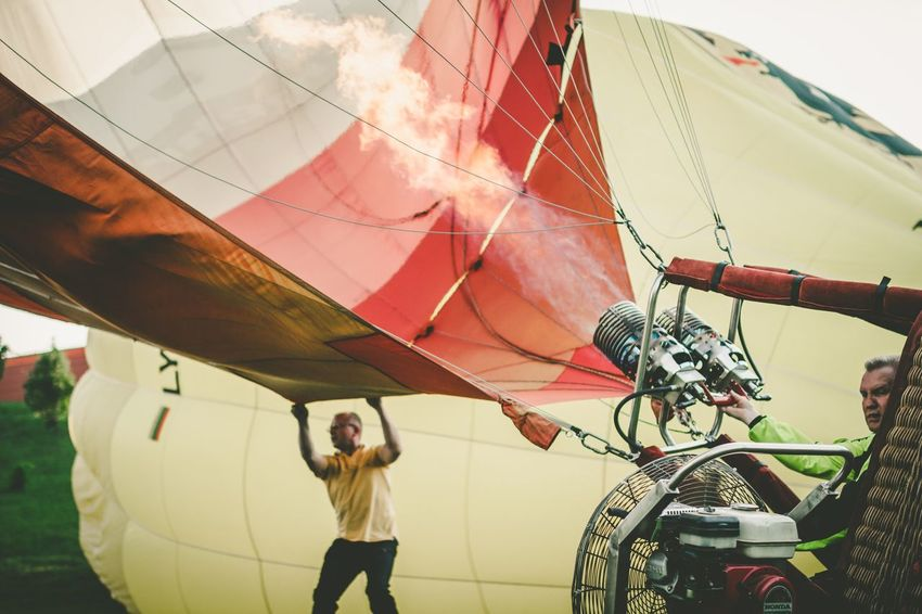 The Photojournalist - 2016 EyeEm Awards The Great Outdoors - 2016 EyeEm Awards The Street Photographer - 2016 EyeEm Awards The Essence Of Summer May City Life Sigma 35mm Art Lithuania People Around You Air Balloon AirBalloon Fire People Working