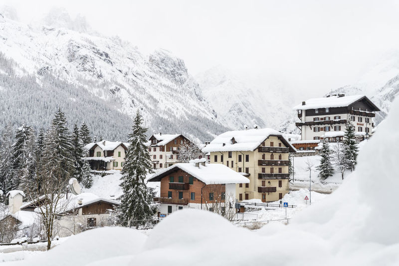 Snow magic. Walk in the ancient village of Sappada. Friuli Sappada Italy Sky Snow Snowcapped Mountain Snowing Snow Covered Italy Friuli Venezia Giulia Alps Building Church Cold Dolomiti Italy House Landscape Light Mountain Nobody Vacation Winter Alpine Cottage Hiking Holiday Landmark