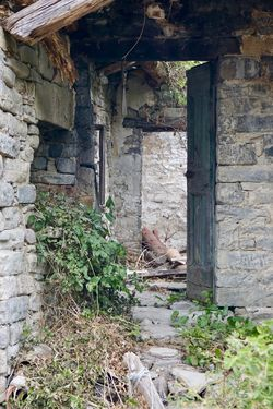 Old farm rattled Abandoned Architecture Bad Condition Building Exterior Built Structure Damaged Day Doorway House Indoors  No People Old Old Ruin Rotting