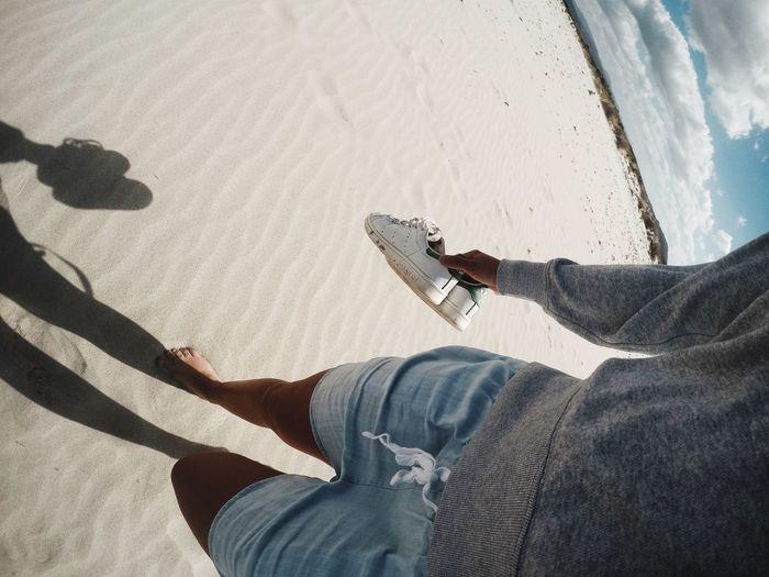 Strolling Beach Beach Photography Sea Sardegna Gopro STAN SMITH Sand Sand Dune Lasdunasbianca Dunes Fine Art Photography Showcase July