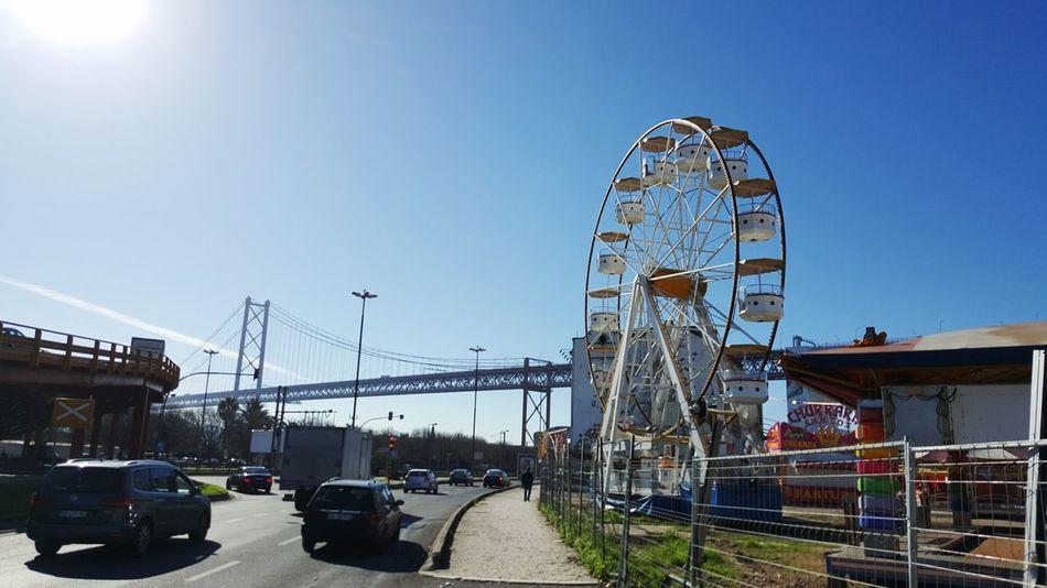Lisboa Feira Roda Alcántara Diversão