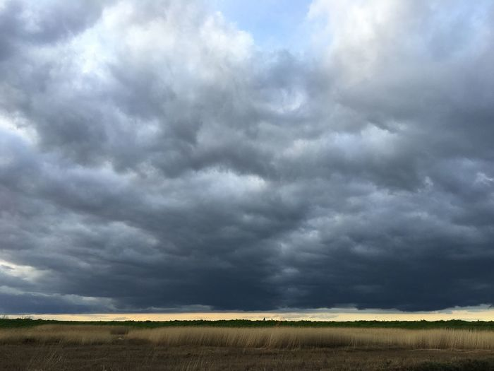 Cley storm sky Landscape Cloud - Sky Storm Cloud Field No People Tranquil Scene Sky Outdoors Thunderstorm Storm Nature Scenics Beauty In Nature Day