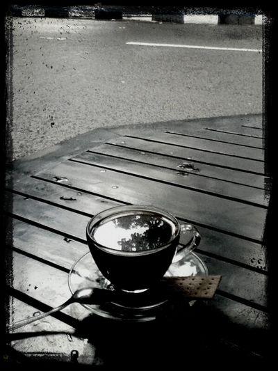 Rain, me, and coffee