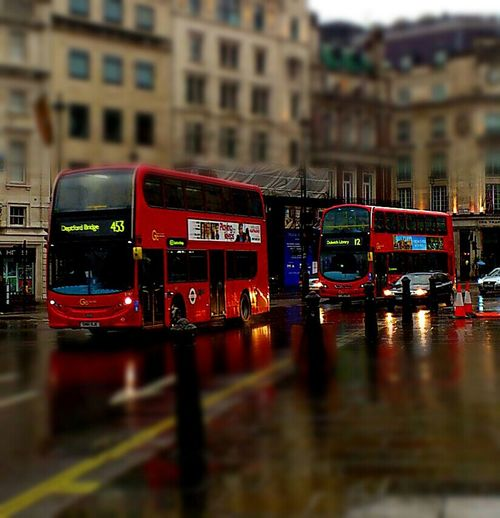 Streetphotography Red London Buses