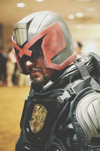 DragonCon Judge Dredd Superhero