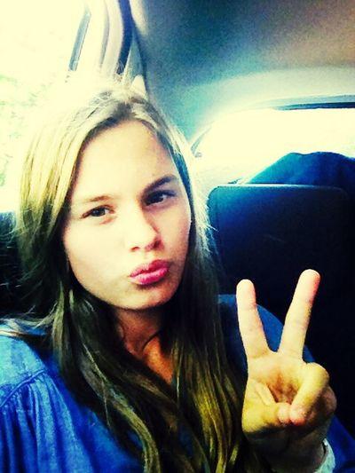 Love U All Mode Car Selfie