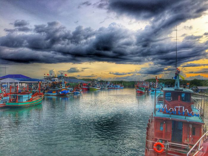 Boat River Cloud - Sky