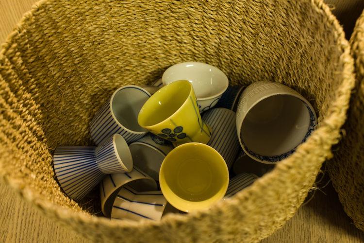 Close-up of bowl of bowls
