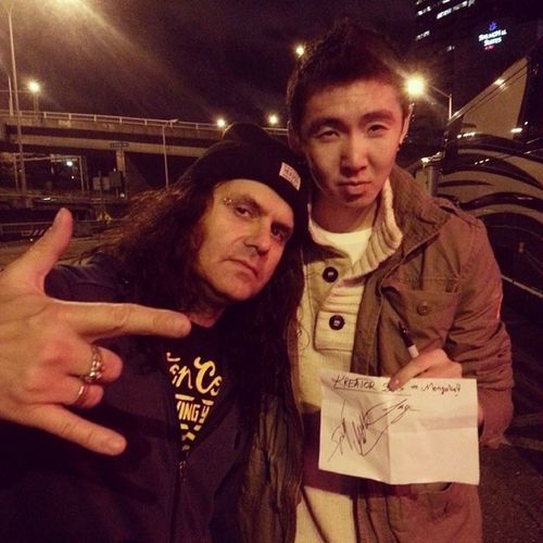 With Petrozza - Kreator