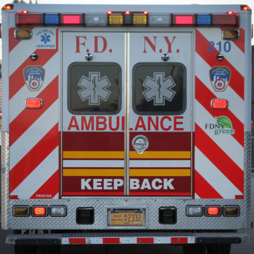 New York Ambualnce Close-up Communication Day Fire Engine No People Outdoors Protection Red Safety Text