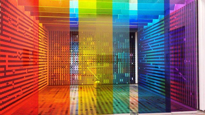 Pompidou Center France🇫🇷 Multi Colored Data Architecture Built Structure Building Communication Futuristic